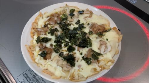 フライパンで手作りピザ2
